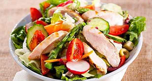 Diät-Menü von 1200 Kalorien, um Gewicht zu verlieren