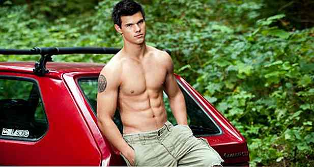 Taylor Lautners Diät und Training - Hollywoods Galan