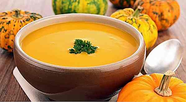 4 Pumpkin Soup Recipes Light (wenige Kalorien)