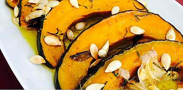 5 Ricette per Pumpkin Cabotiá Assada Light