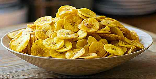 6 ricette Chips Banana Fit