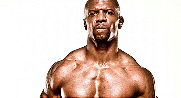 - Diez y Entrenamiento de Terry Crews - el Julius Rock de la TV