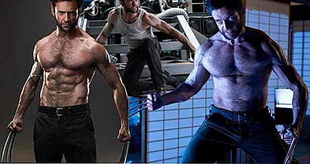 Hugh Jackmans Diät und Training - The Cinema Wolverine
